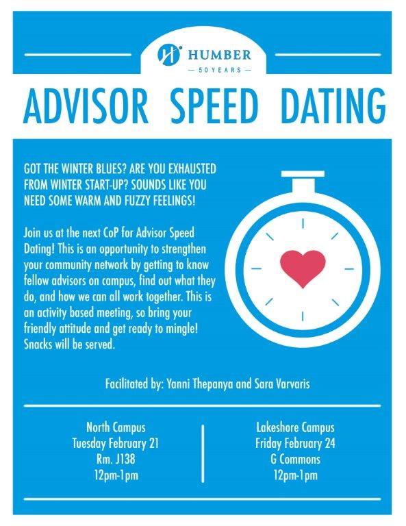 Speed dating college campus