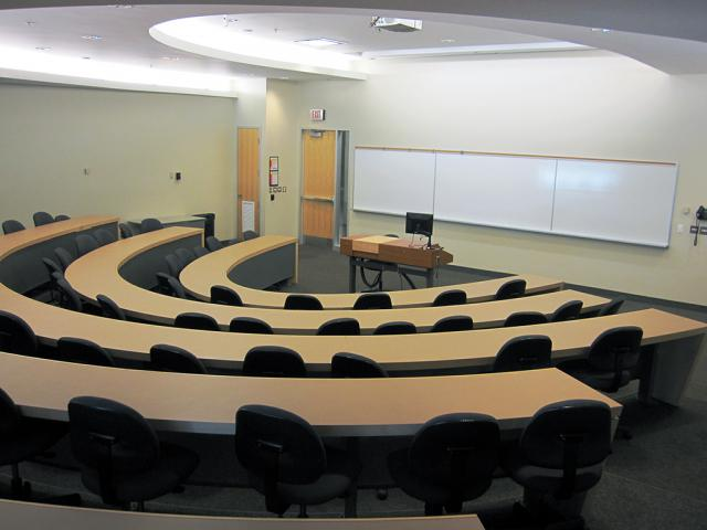 Guelph Humber Small Lecture Theatre - back