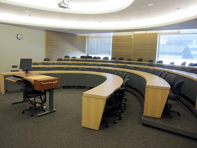 Guelph Humber Small Lecture Theatre - front