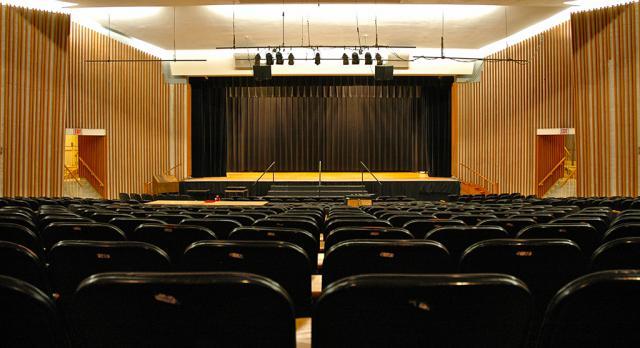 Lake Auditorium Back