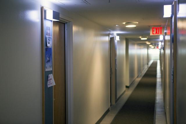 Single Dorm - Hallway