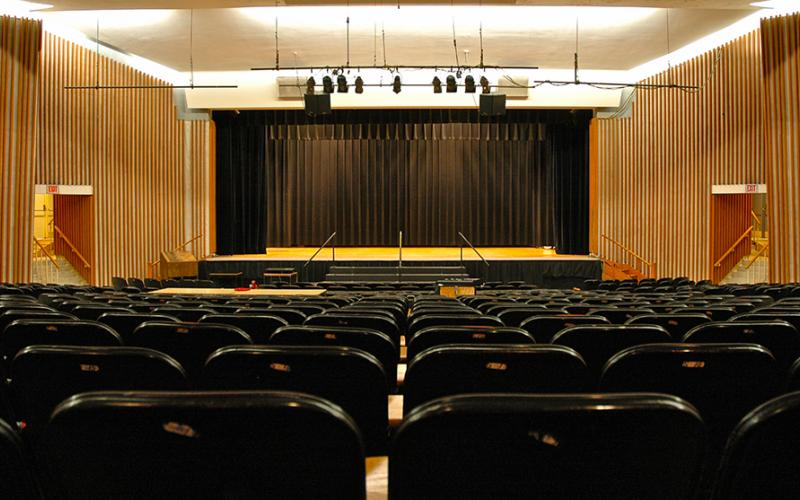 Lake Auditorium Back
