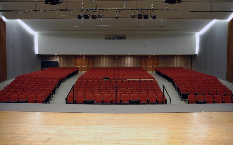 Lake Auditorium Front