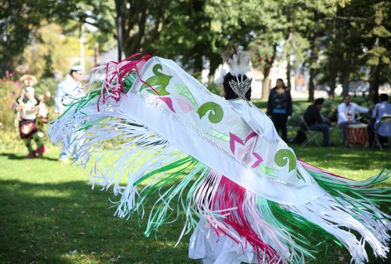 Indigenous dancing – Culture Days - Lakeshore Campus