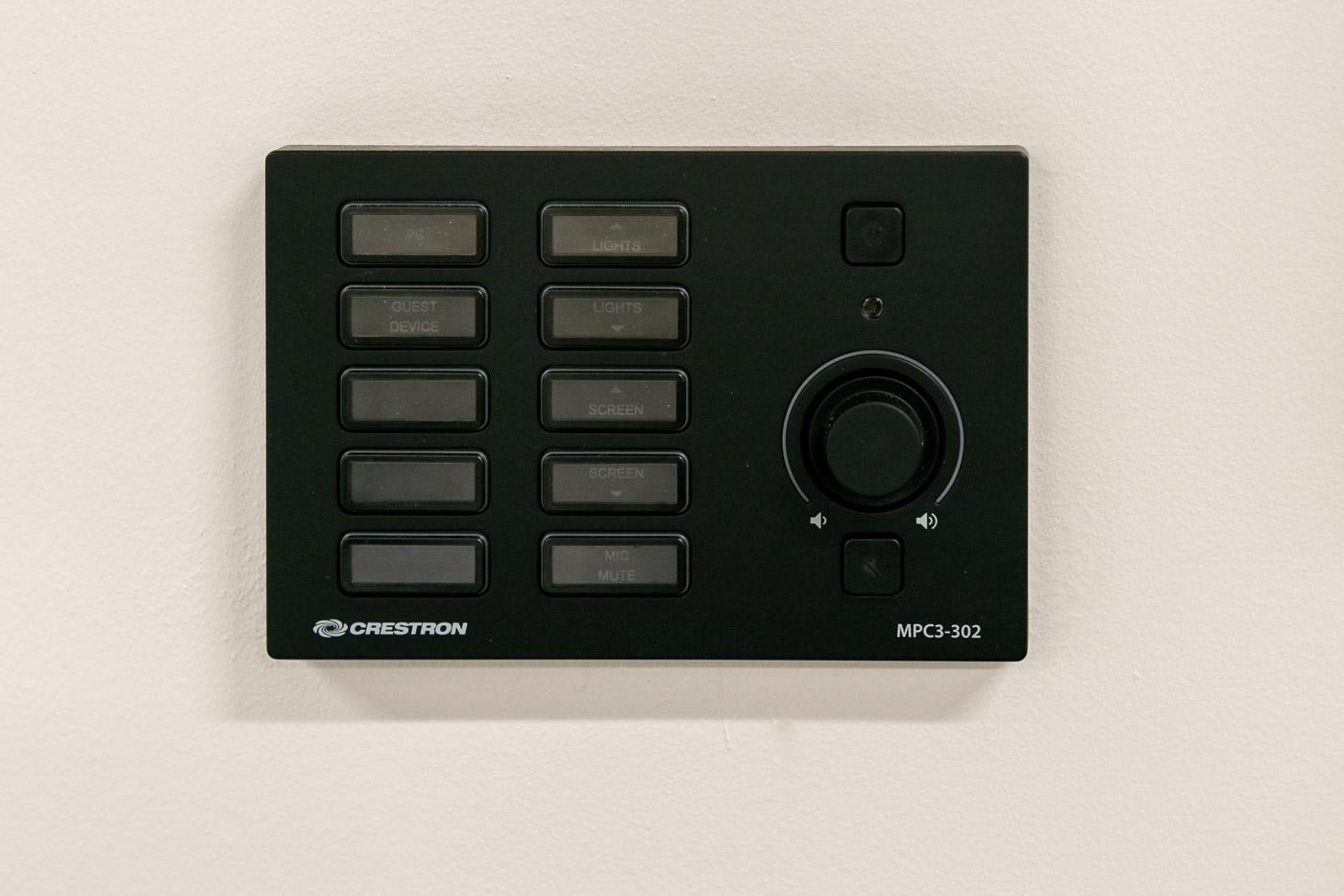 room control panel