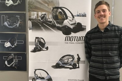 Industrial Design Student Wins at BRP International Design Competition