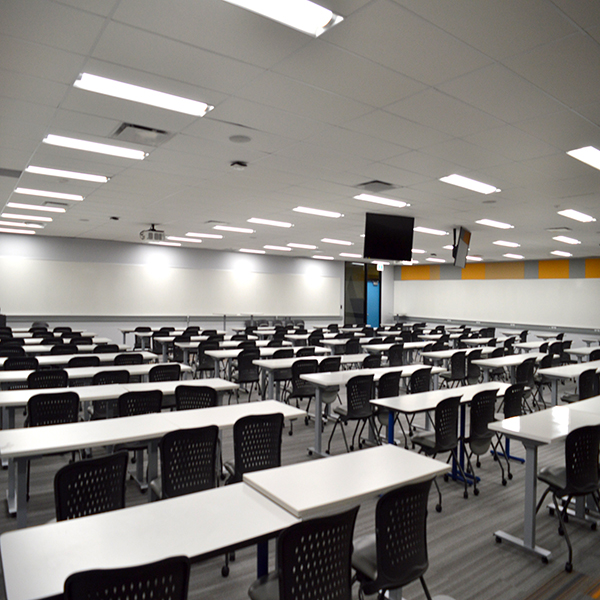 Modern classrooms for testing