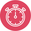 Image of a stopwatch representing time management