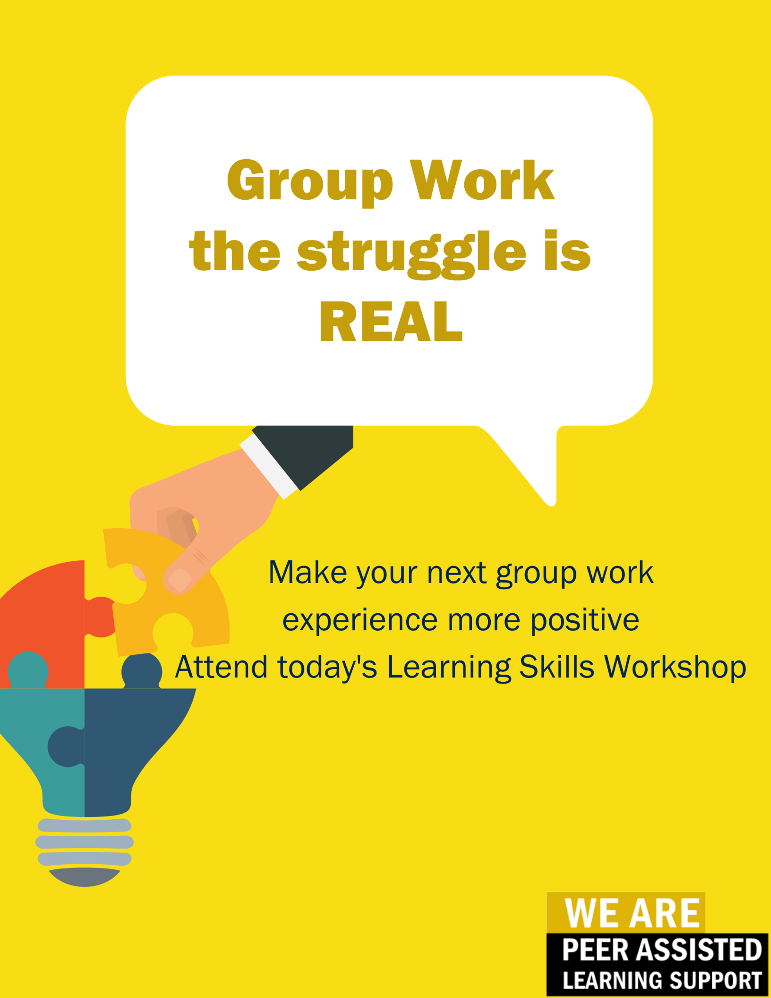 Discover ways to make your next group work a more positive experience.