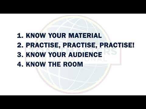 Presentation Skills | Toastmasters' Top Tips