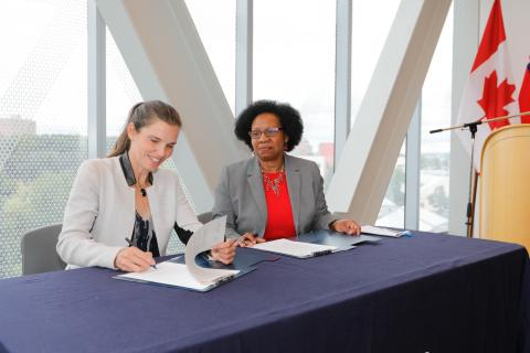 Humber endorsed the federal government's new Dimensions: Equity, Diversity and Inclusion Canada Charter alongside the University of Guelph-Humber