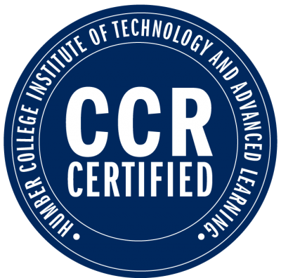 Positions are CCR Certified!