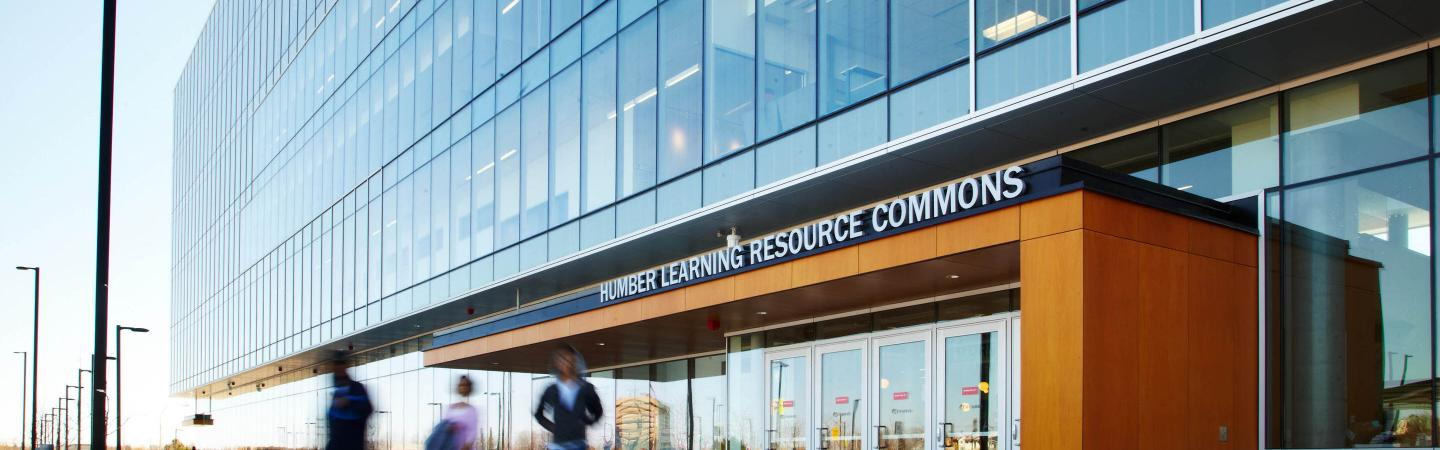 Humber Learning Resource Commons building