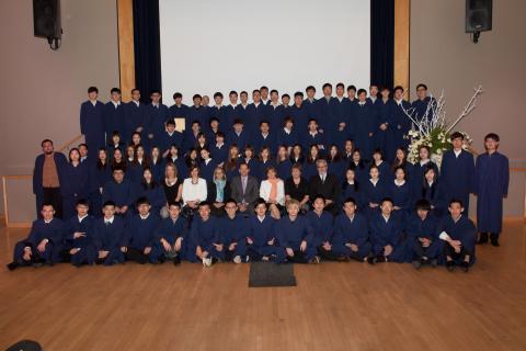 Photo of the 2015 graduating Ningbo-Jimei class