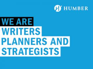 We Are Writers Planners and Strategists