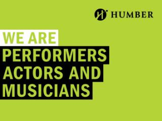 We Are Performers Actors and Musicians