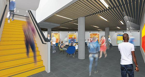 Student Gallery - 1st floor NX Building corridor