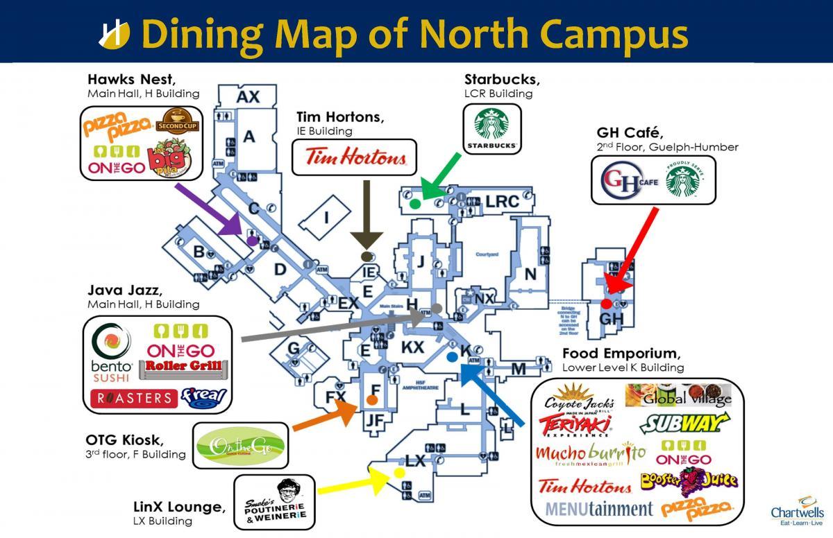 Humber North Campus Map Compressportnederland