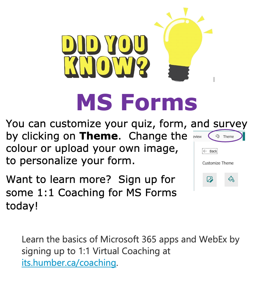 Did You Know - MS Forms