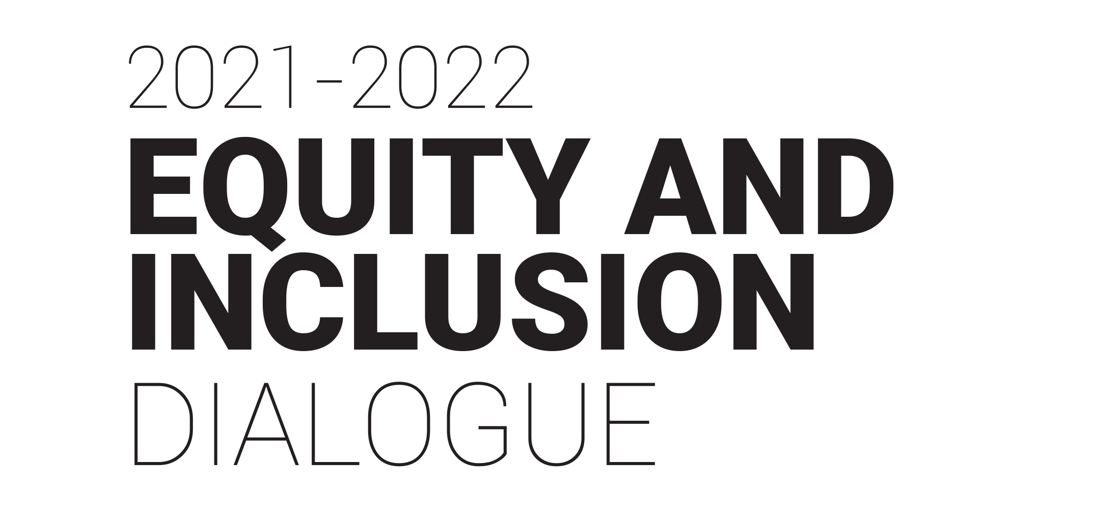 Equity and Inclusion Dialogue