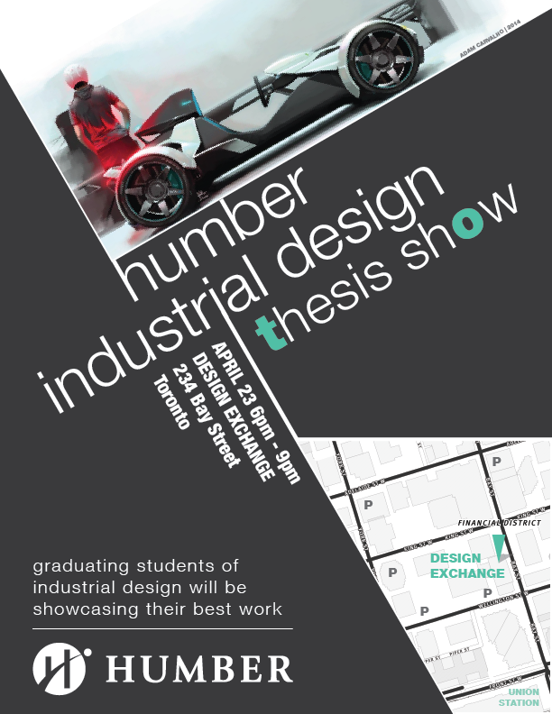 humber industrial design thesis show 2016