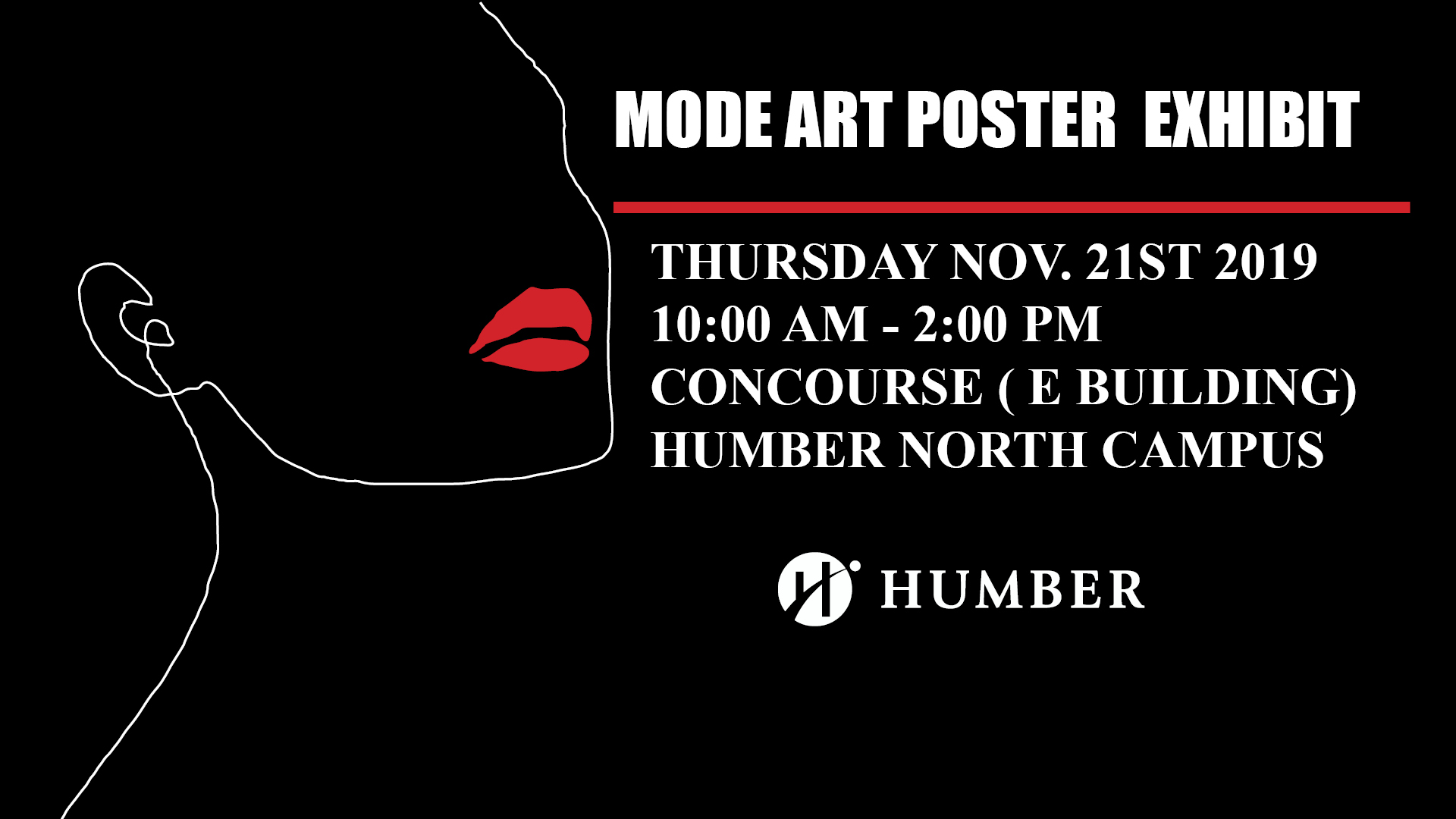 Humber Mode Art Poster Exhibit