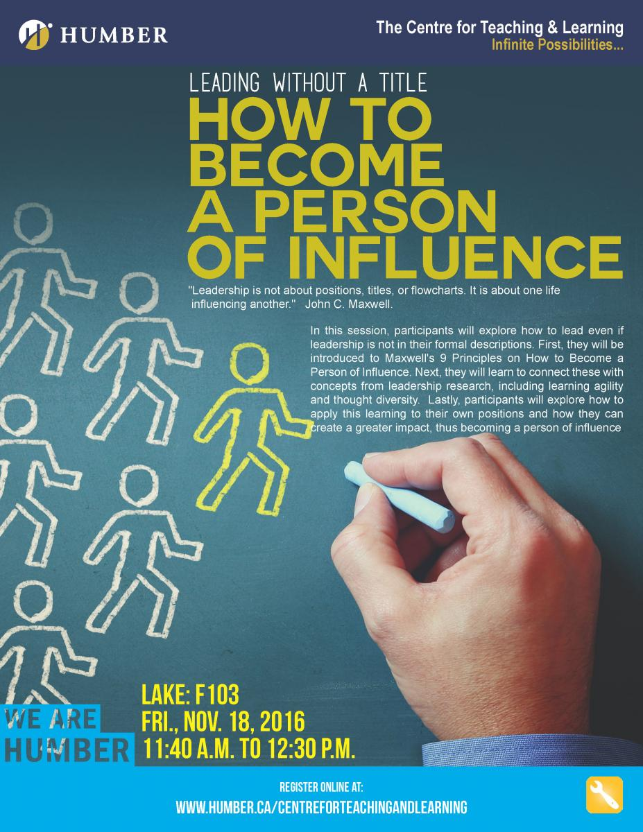 How to influence a person 47
