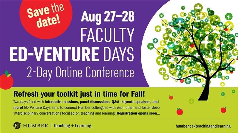 ED-Venture Days August 27-28