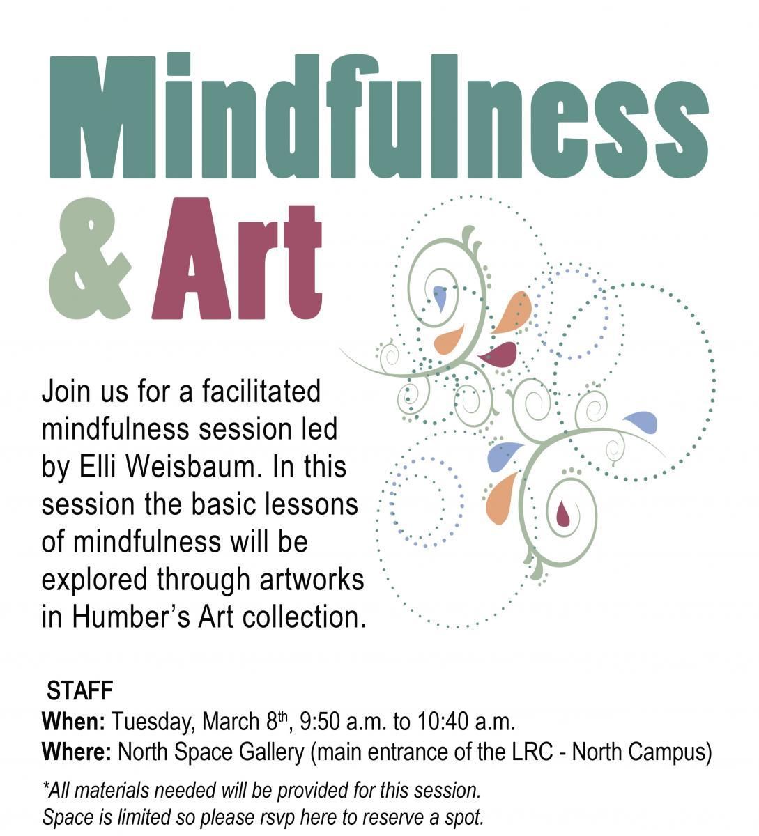 mindfulness art humber communiqué