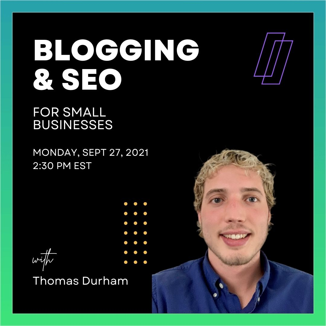 Blogging & SEO for Small Businesses