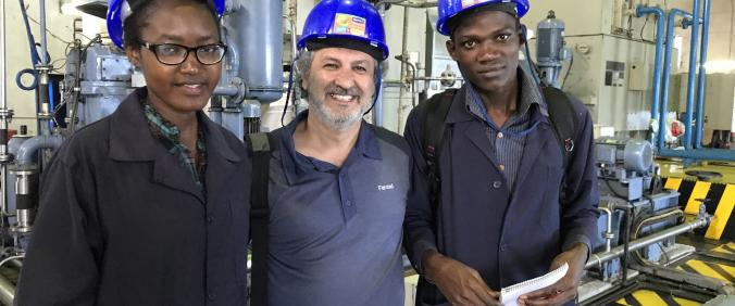 Humber's Dean of SAT visits industry partners in Kenya