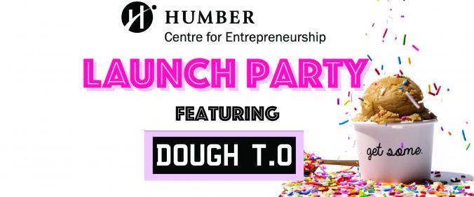Centre for Entrepreneurship Launch Party 2.0 Banner