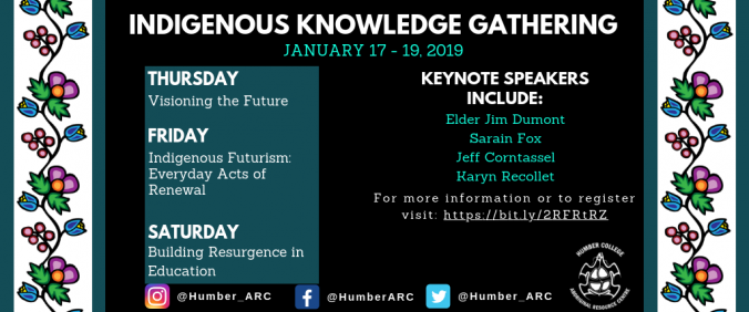 Indigenous Knowledge Gathering 2019 Promotional Poster