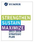 Humber Strategic Plan