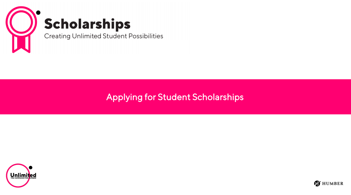 Applying for Student Scholarships