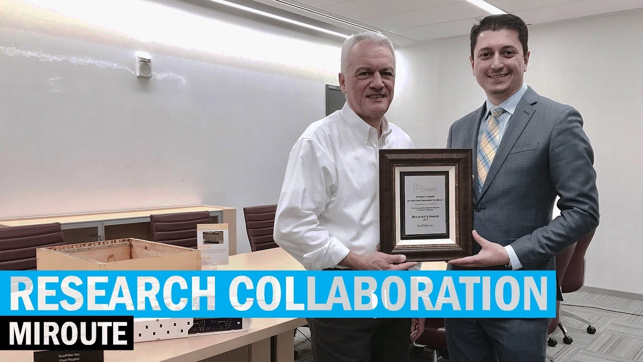 Research Collaboration – Humber and miRoute