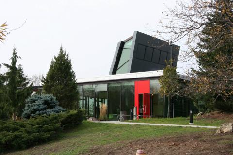 The Centre for Urban Ecology sits inside the Arboretum.