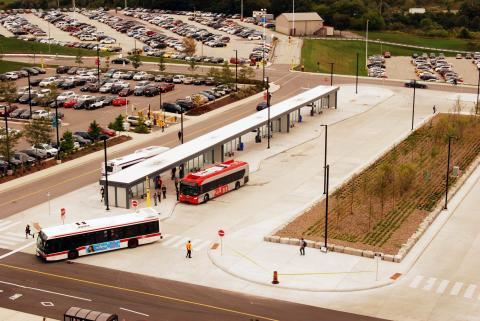 Humber College bus loop