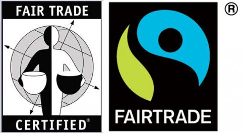 Examples of the Fairtrade logo