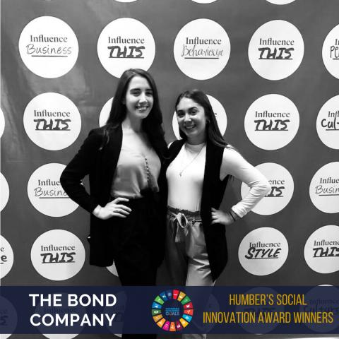 The Bond Company: Humber's Social Innovation Award Winners