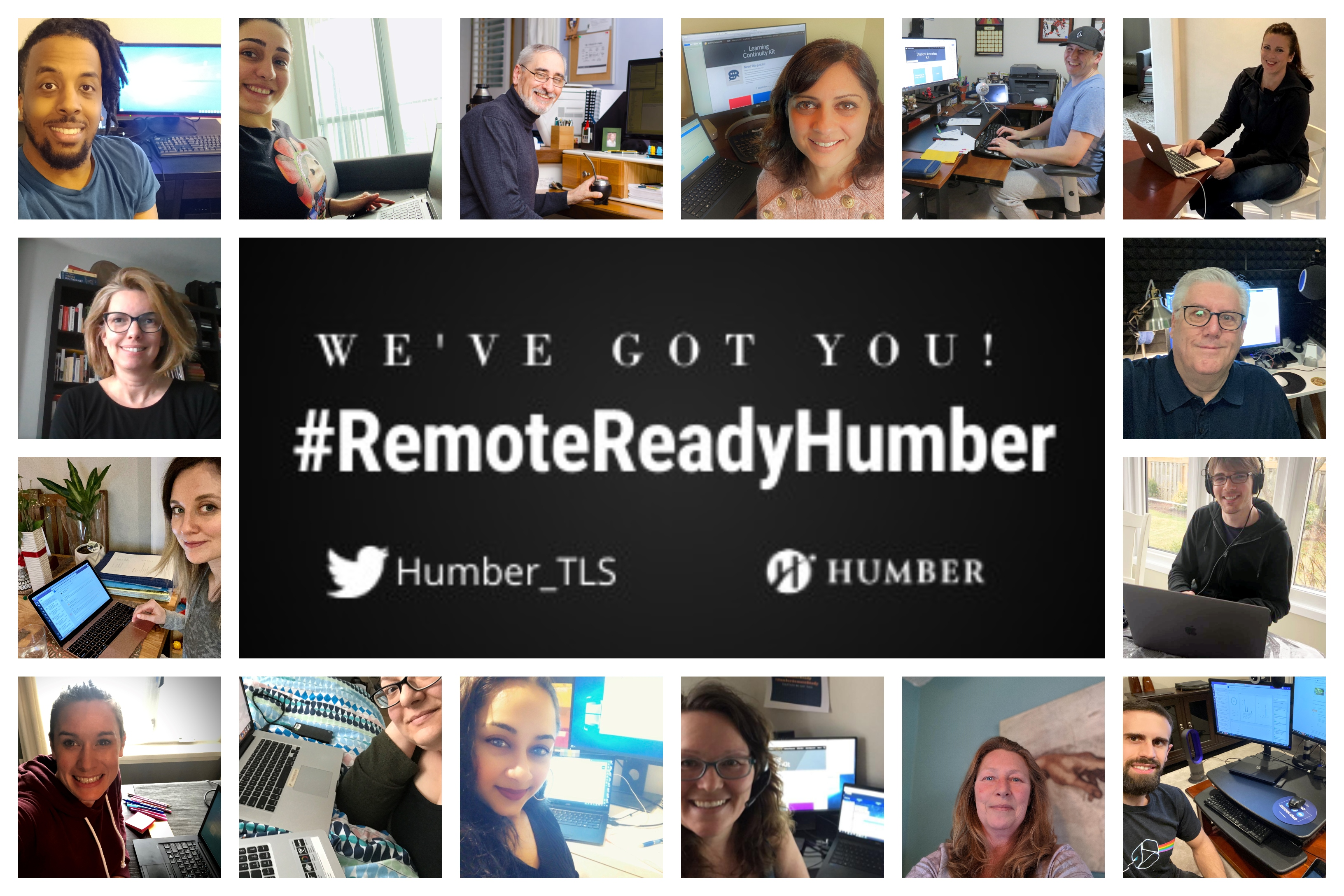 Remote Ready Humber. We've got you!