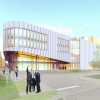 Exterior rendering of the Humber Cultural Hub