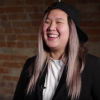 Sophia Yeh during her interview with Humber College