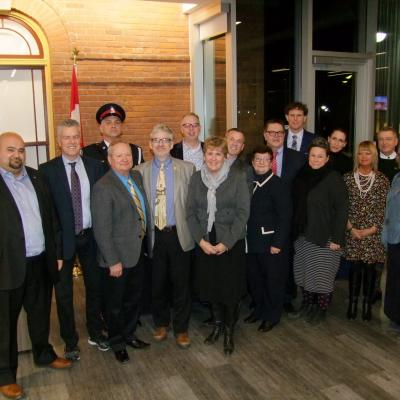 Group photo of award recipients provided by Shane Jeffery, Snapd Bloor West