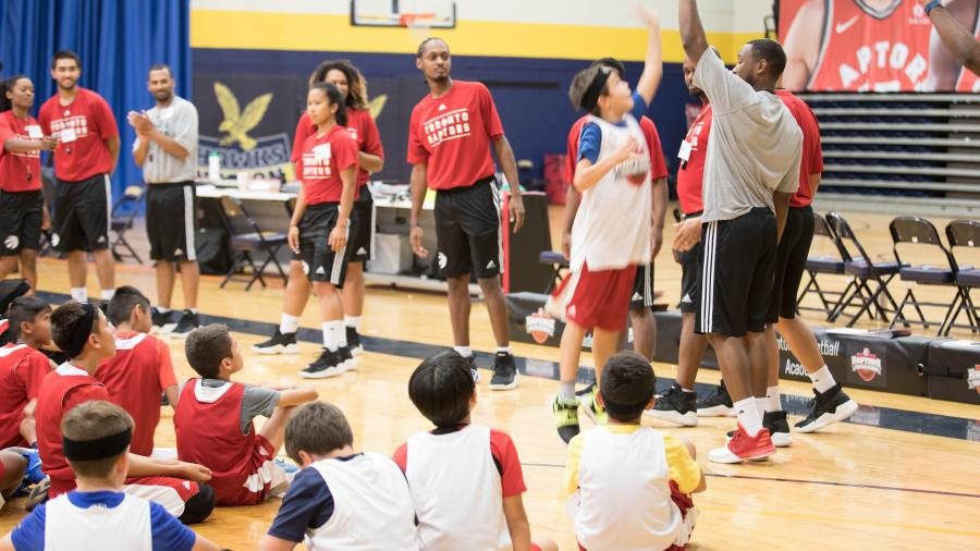 Raptors Basketball Academy at Humber in its 13th year