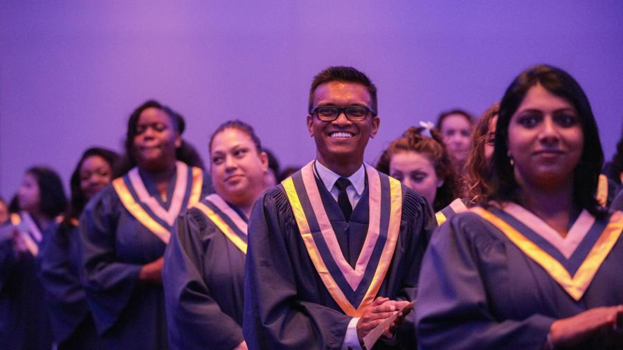 Humber graduates celebrate during their convocation ceremony