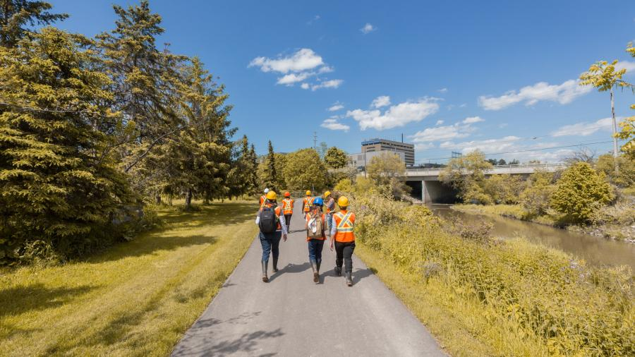 Humber Pond Revitalization Project creates innovative learning opportunities
