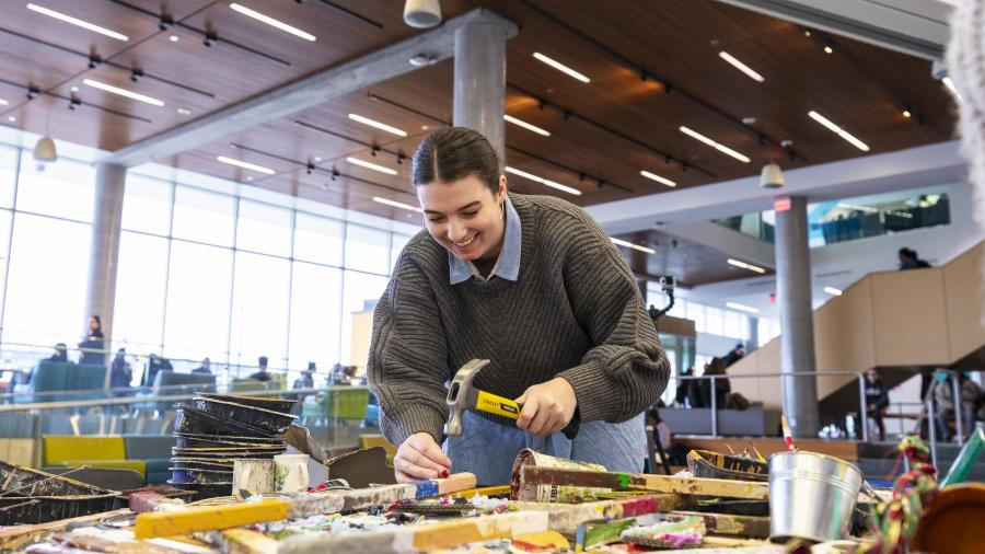 Sustainability and art collide at Humber's North Campus