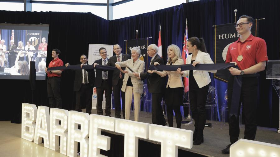 The Barrett Centre for Technology Innovation welcomes the future of education