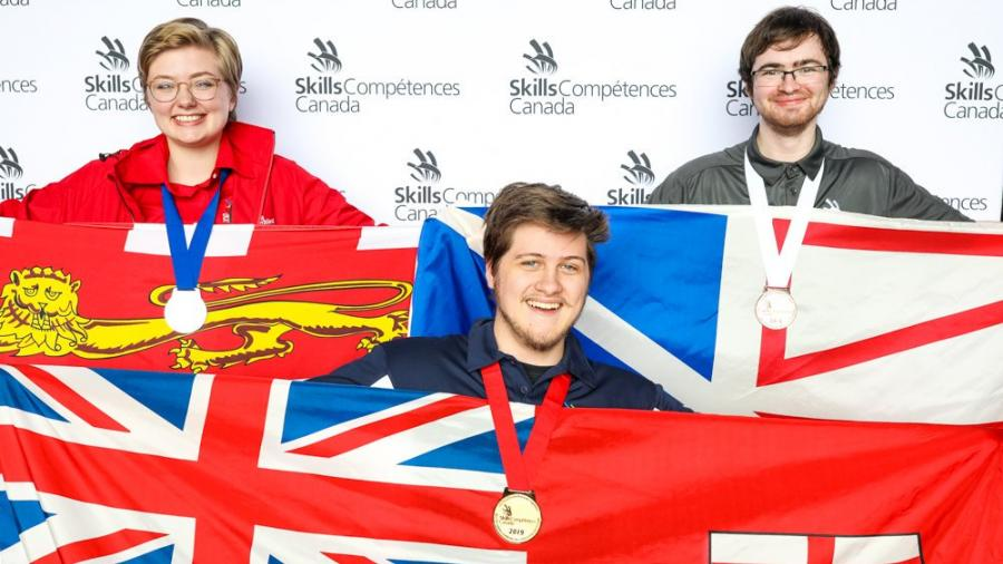 Humber took Halifax by storm in the Skills Canada competition